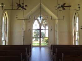 """""""The chapel's pews are made of wood reclaimed from 9/11,"""