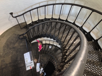 167 Step spiral staircase