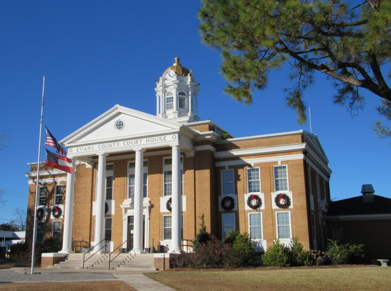 Evans County Courthouse